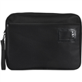 MARBIG EXPANDING CONVENTION SATCHEL ZIPPERED 415MM W X 330MM H BLACK
