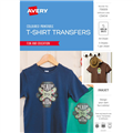 AVERY 79009 INSPIRED TSHIRT TRANSFER A4 COLOUR 5PK
