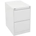 GO STEEL FILING CABINET 2 DRAWERS 460 X 620 X 705MM WHITE CHINA