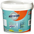 GLASS AND STAINLESS STEEL WET WIPE NORTHFORK BULK TUB 150 SHEETS