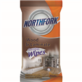 NORTHFORK CLEANING WET WIPE FOR WOOD 50PK EACH1 PACK8